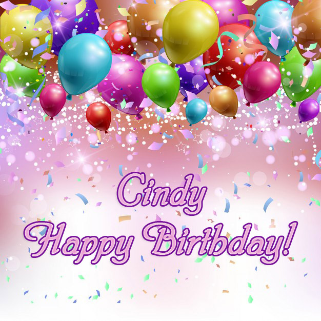 happy birthday cindy images ; name_15267