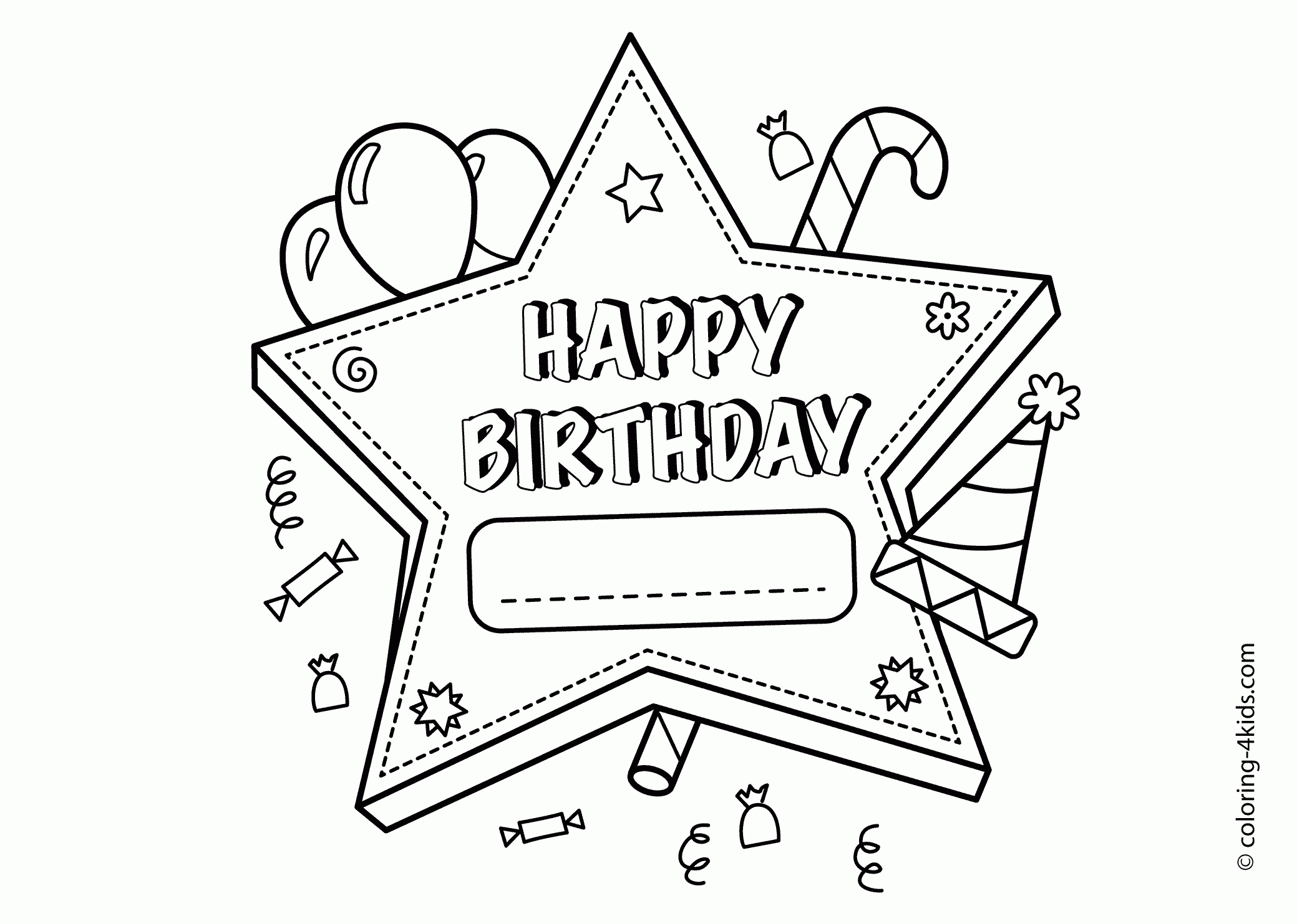 happy birthday coloring pages for girls ; happy-birthday-coloring-pages-for-friends-girls-19a