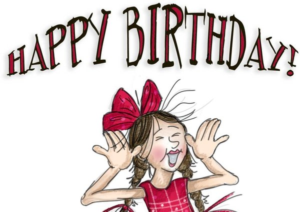happy birthday crazy girl ; funny-birthday-images-pictures
