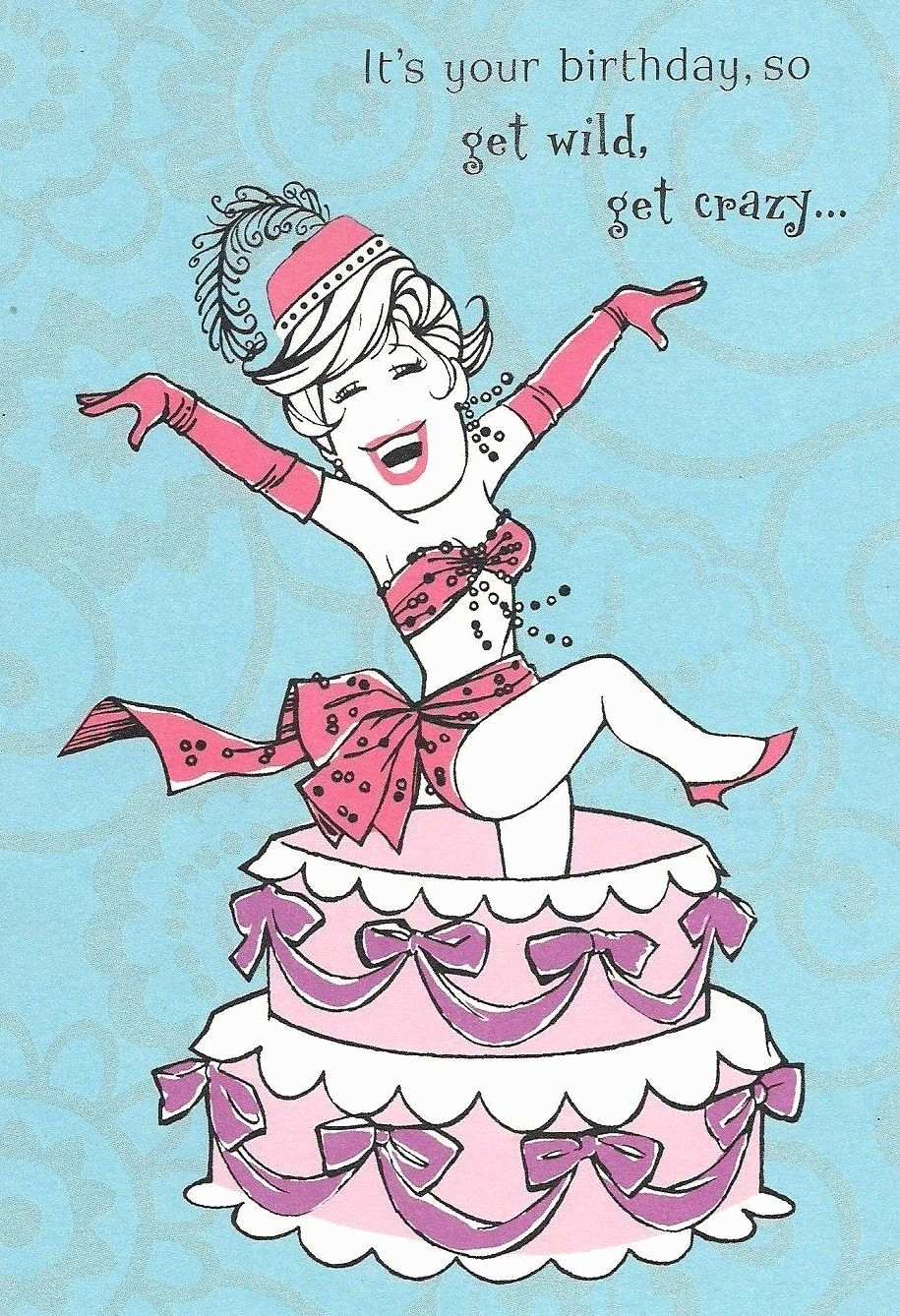 happy birthday crazy girl ; happy-birthday-quotes-daughter-inspirational-y-lady-show-girl-pops-out-of-cake-birthday-greeting-card-hallmark-of-happy-birthday-quotes-daughter