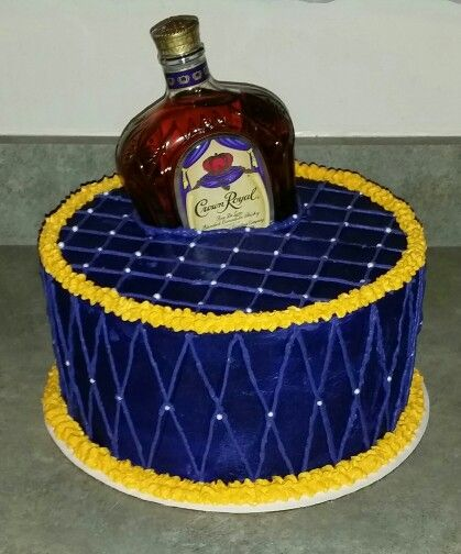 happy birthday crown royal ; fashionable-ideas-crown-royal-birthday-cake-party-gift-pinterest-boss-and