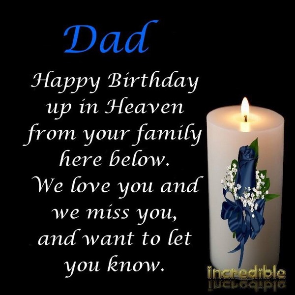 happy birthday dad in heaven images ; free-birthday-wishes-in-heaven
