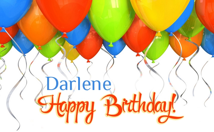 happy birthday darlene images ; name_2097