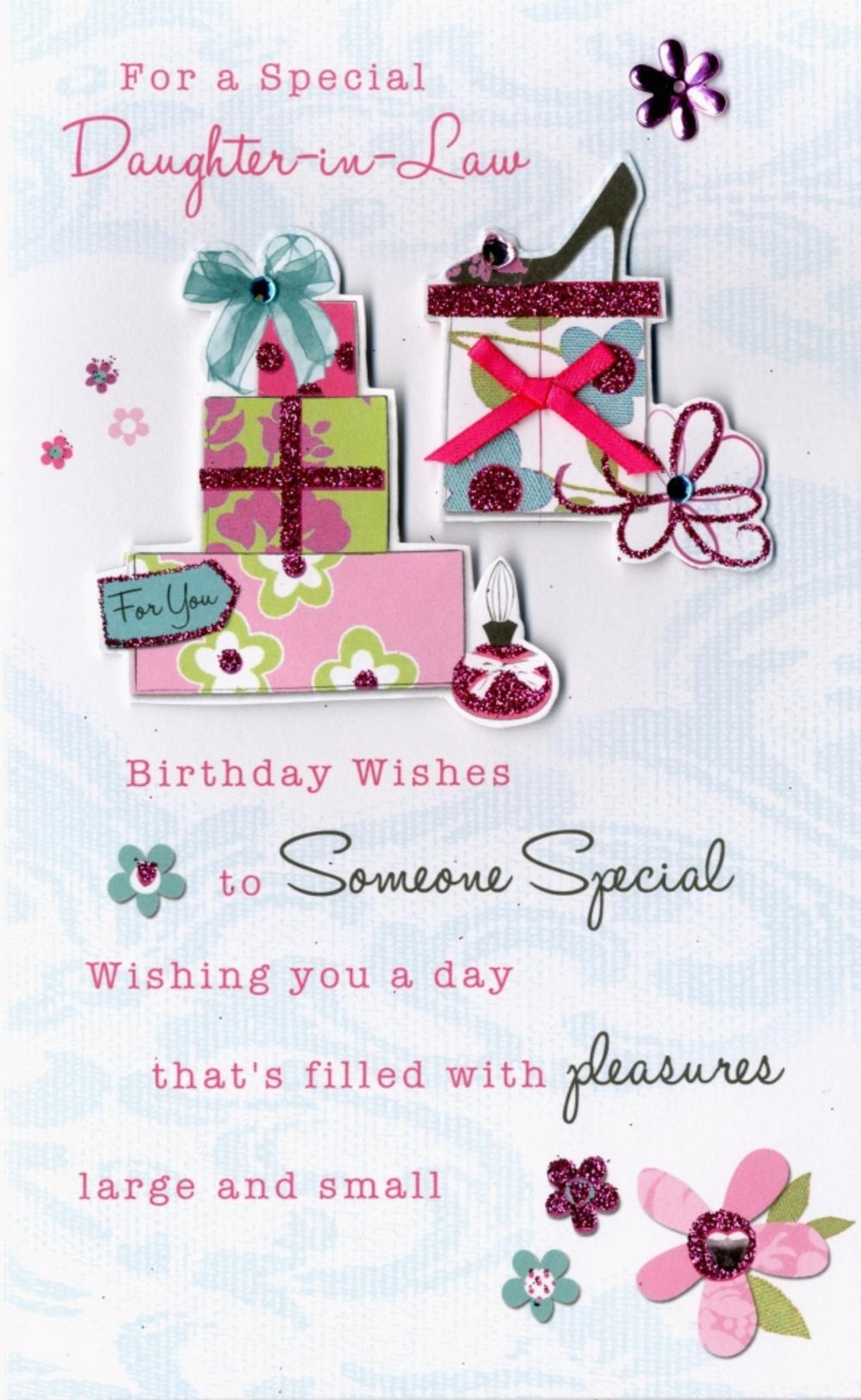 happy birthday daughter in law ; lrgscalePC171-Birthday-Card