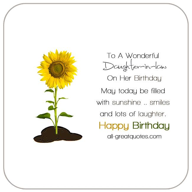 happy birthday daughter in law images ; to-a-wonderful-daughter-in-law-on-her-birthday-bright-yellow-sunflower-card