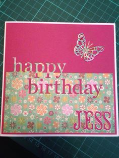 happy birthday dies for card making ; 1b31622cac86e1a7efba0647fadbc87a--female-birthday-cards-memories-box