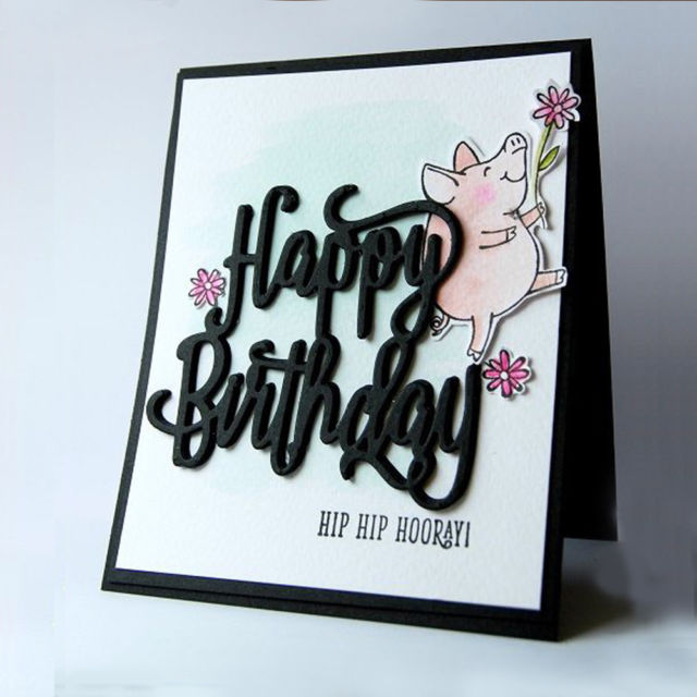 happy birthday dies for card making ; s-l640-1