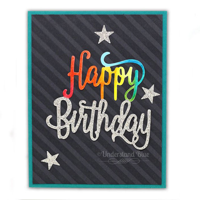 happy birthday dies for card making ; s-l640