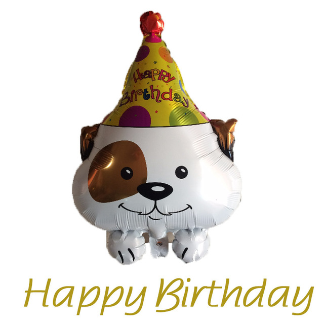 happy birthday dog images free ; Free-Shipping-New-Happy-Birthday-Dog-Ballon-Aluminum-Balloons-Children-s-Day-Birthday-Party-Wedding-Decoration
