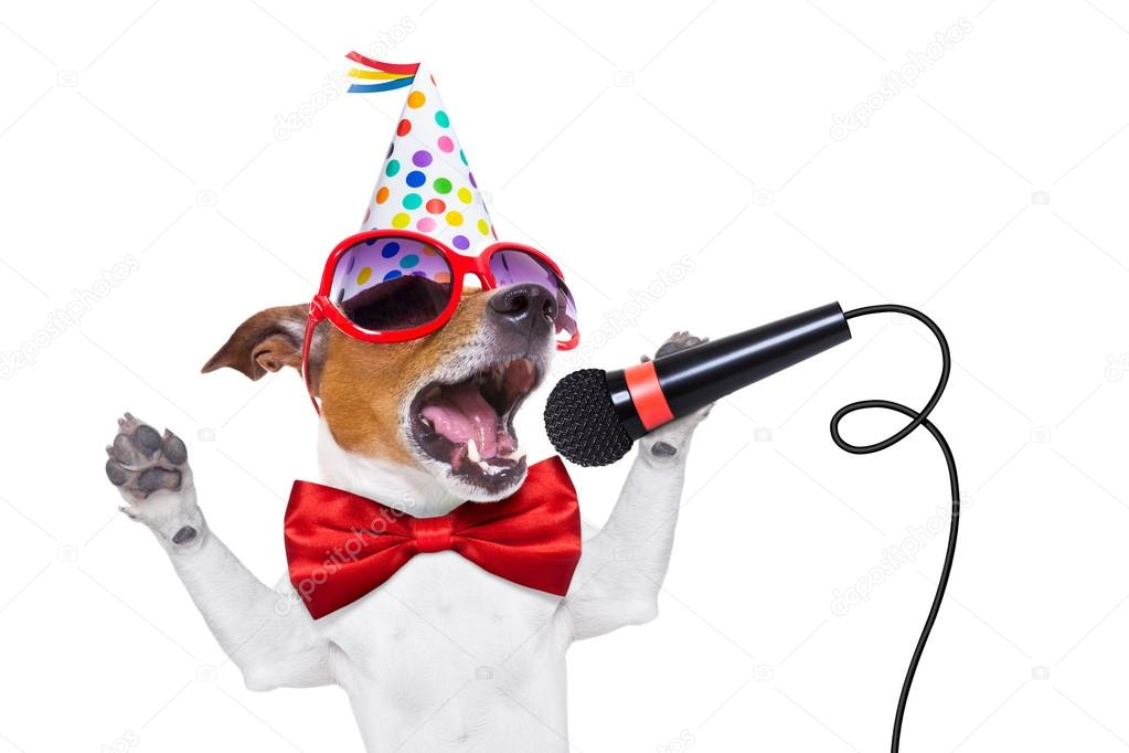happy birthday dog images free ; depositphotos_72784459-stock-photo-happy-birthday-dog-singing