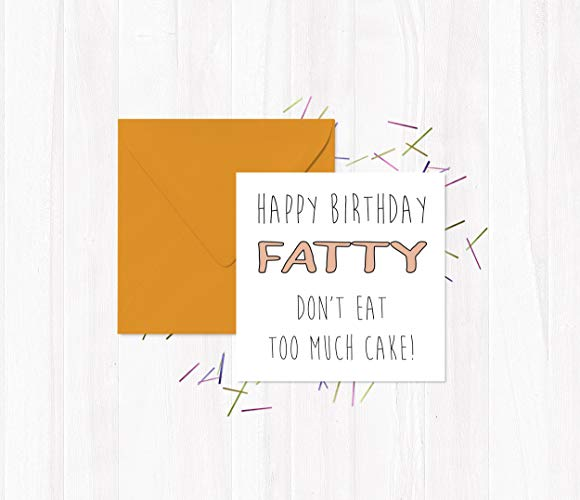 happy birthday fatty ; 91Clhk6mqLL