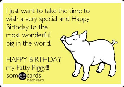 happy birthday fatty ; i-just-want-to-take-the-time-to-wish-a-very-special-and-happy-birthday-to-the-most-wonderful-pig-in-the-world-happy-birthday-my-fatty-piggy--12461