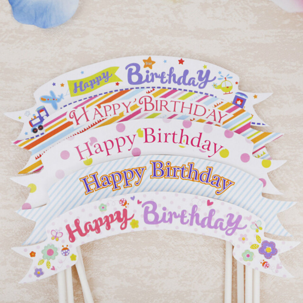 happy birthday flag banner ; 1PcHappy-Birthday-Banner-Flag-Cupcake-Topper-Cake-Flags-Baby-Shower-Child-Birthday-Party-Supplies-Cake-Baking