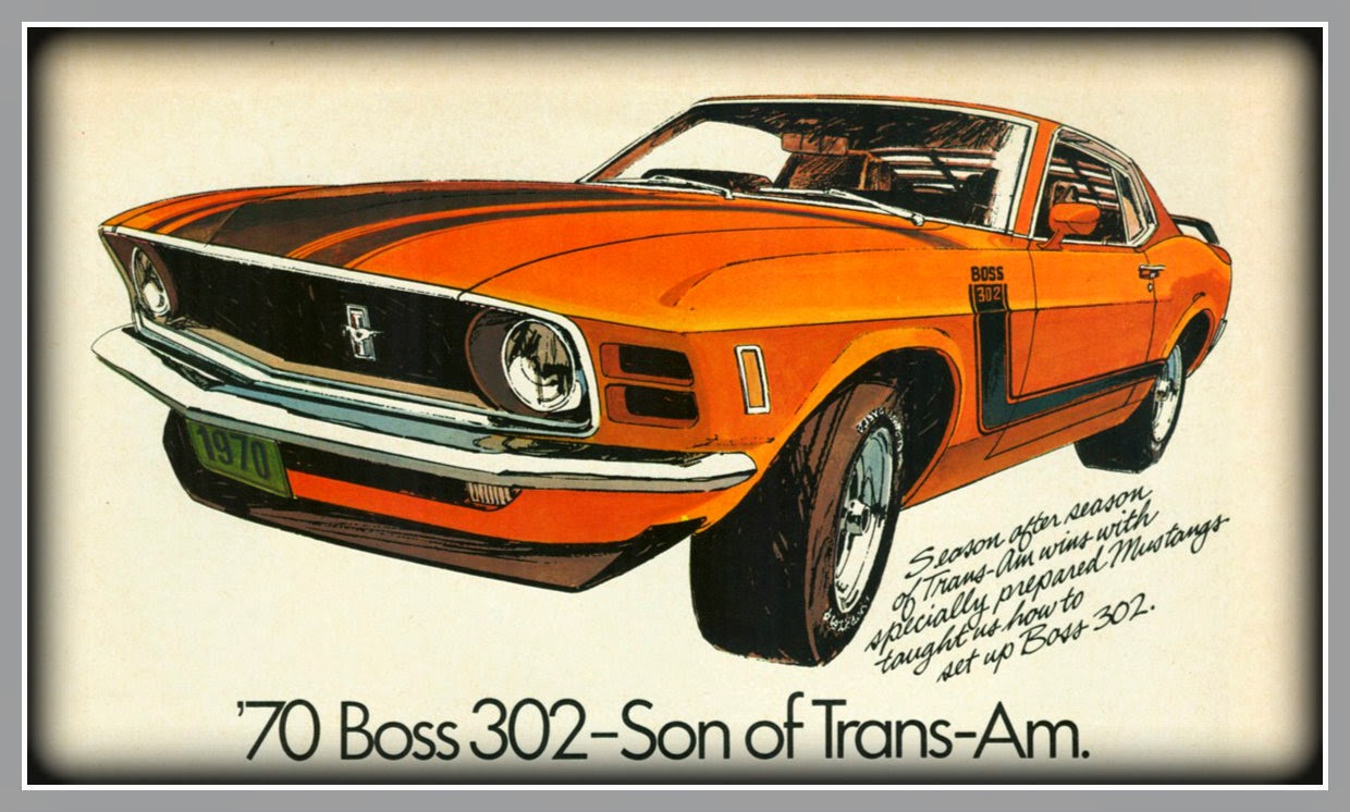 happy birthday ford ; 70MUSTANG