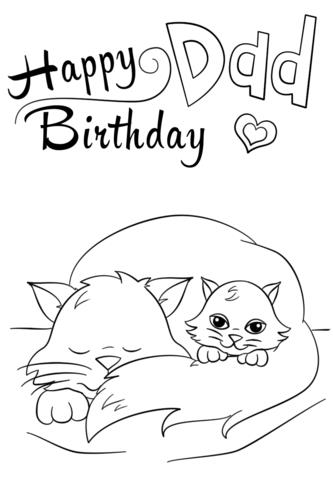 happy birthday free printable coloring pages ; happy-birthday-dad-coloring-page