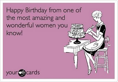 happy birthday friend memes ; Amazing-Wonderful-Women