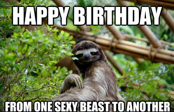 happy birthday friend memes ; sexy-beast-to-another-best-friend-birthday-meme