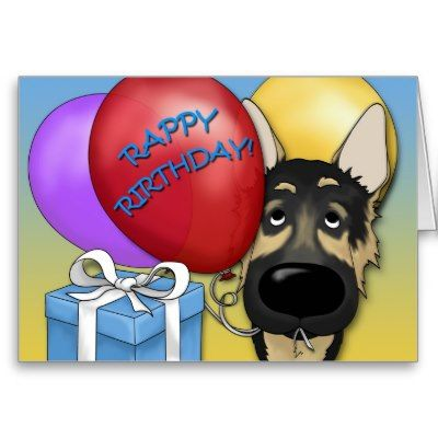 happy birthday german shepherd greeting ; f7923e4cf4d3e26860ce4a39badd4ccd