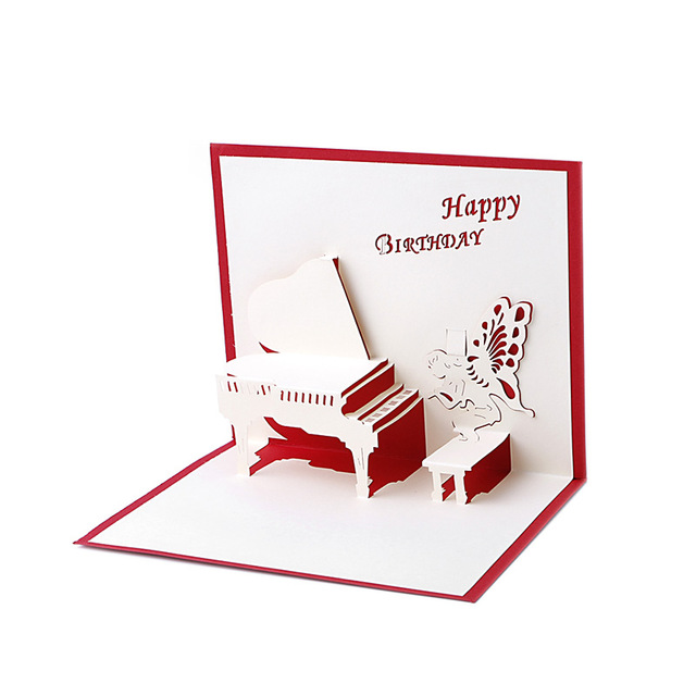 happy birthday gift card ; Birthday-Greeting-Cards-3D-Laser-Cut-Happy-Birthday-Greeting-Cards-Piano-Greeting-Gift-Card-Postcards-Handmade