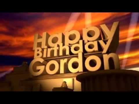 happy birthday gordon ; hqdefault