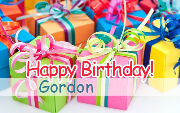 happy birthday gordon ; name_917