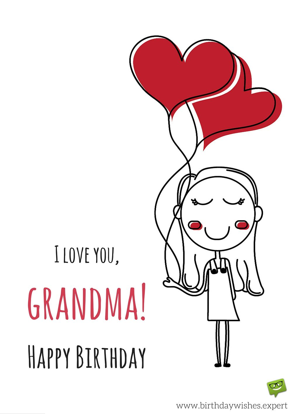 happy birthday grandma funny ; I-love-you-Grandma