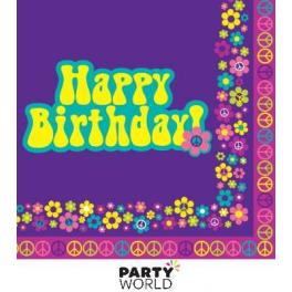 happy birthday groovy ; groovy-girl-happy-birthday-luncheon-napkins-16pk