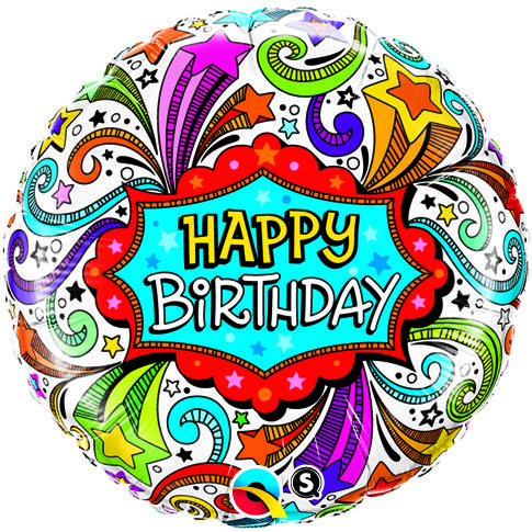 happy birthday groovy ; happy-birthday-groovy-shooting-stars-foil-helium-balloon-5279-p