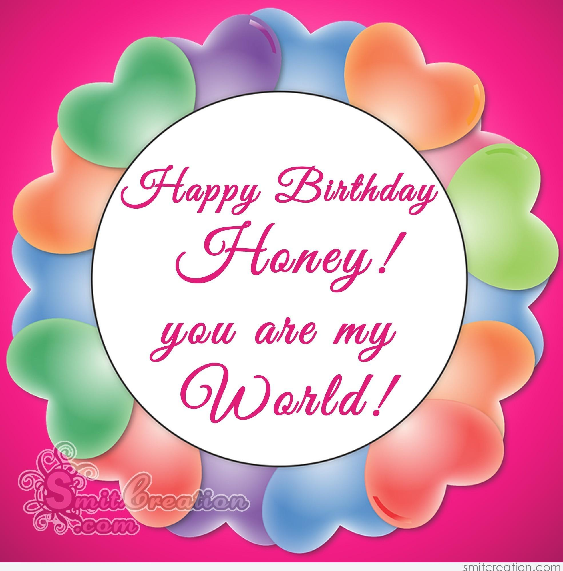 happy birthday honey images ; 5223
