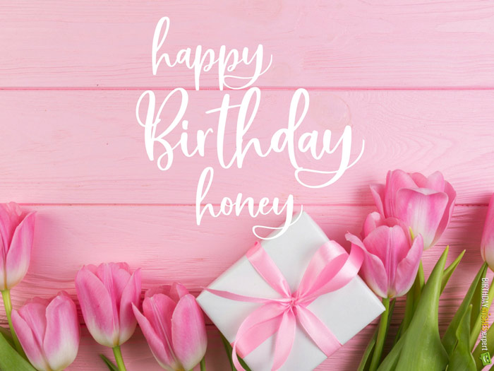 happy birthday honey images ; happy-birthday-honey-pink-tulips