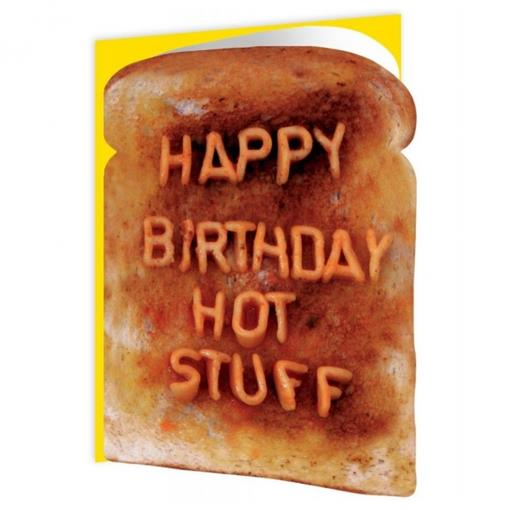 happy birthday hot stuff card ; brainbox-candy-happy-birthday-hot-stuff-toast-card-p603-4755_medium