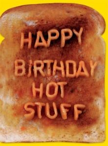 happy birthday hot stuff card ; s-l300