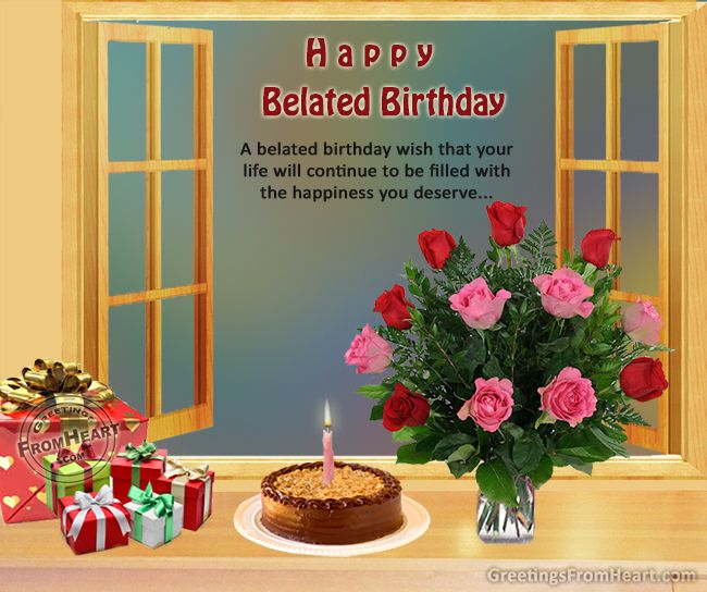 happy birthday in advance greeting cards ; 9a6848e9ac19f94913b91c9daac08508--belated-birthday-greetings-birthday-greeting-card