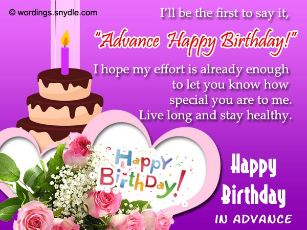 happy birthday in advance greeting cards ; birthday-wishes-in-advance