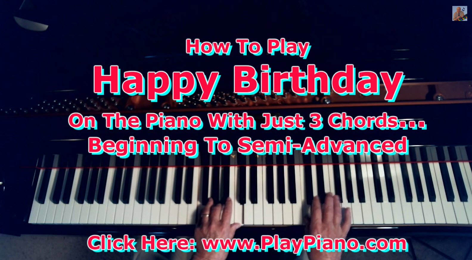 happy birthday in piano chords ; Happy_Birthday