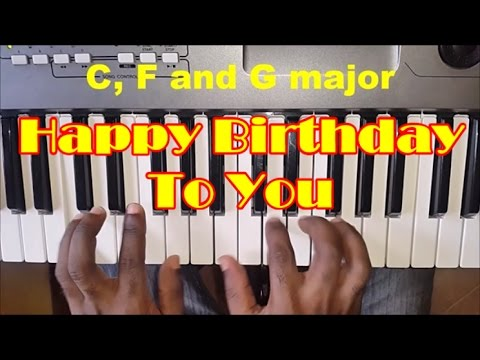 happy birthday in piano chords ; hqdefault-1