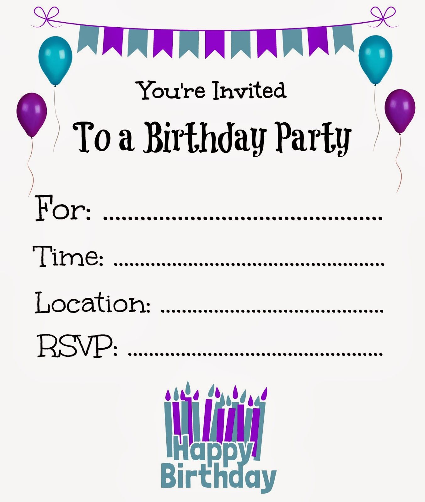 happy birthday invitation template free ; Free-birthday-invitation-templates-is-one-of-the-best-idea-for-you-to-make-your-own-birthday-invitation-design-14