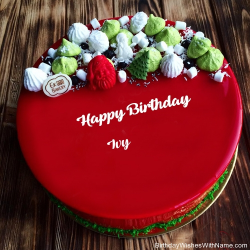 happy birthday ivy ; happy-birthday-to-ivy-cake-pic