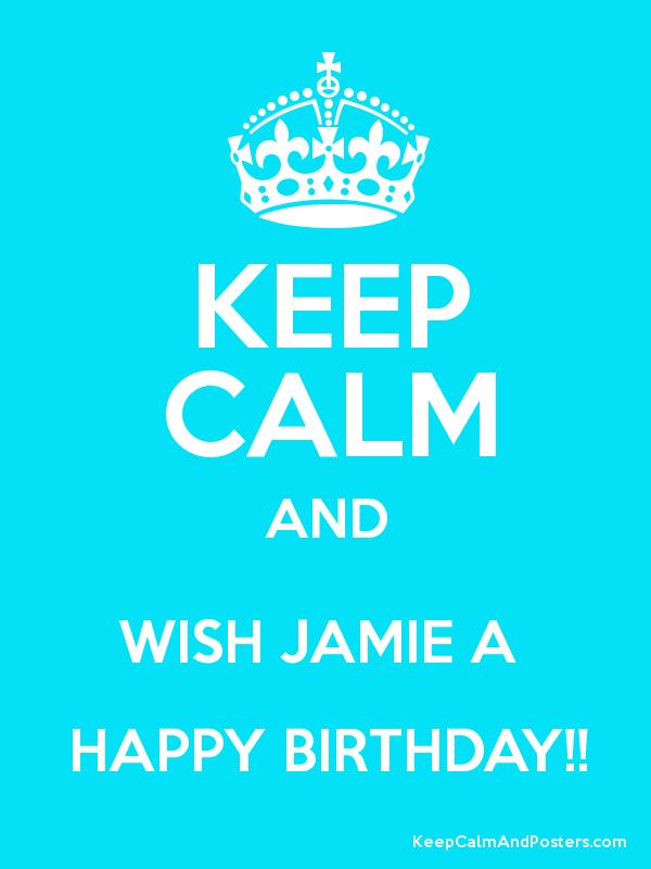 happy birthday jamie ; 2777658