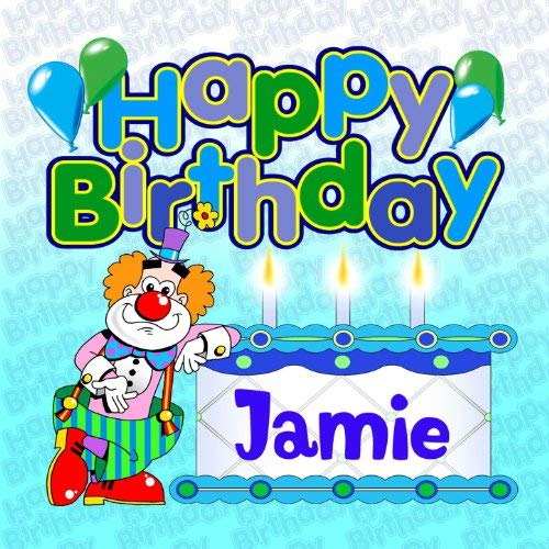 happy birthday jamie ; 61y1A5uA56L