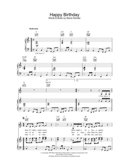 happy birthday jazz piano ; cover-large_file
