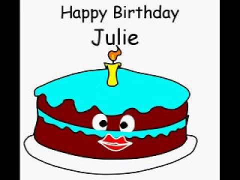 happy birthday julie cake ; hqdefault