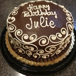 happy birthday julie cake ; ls