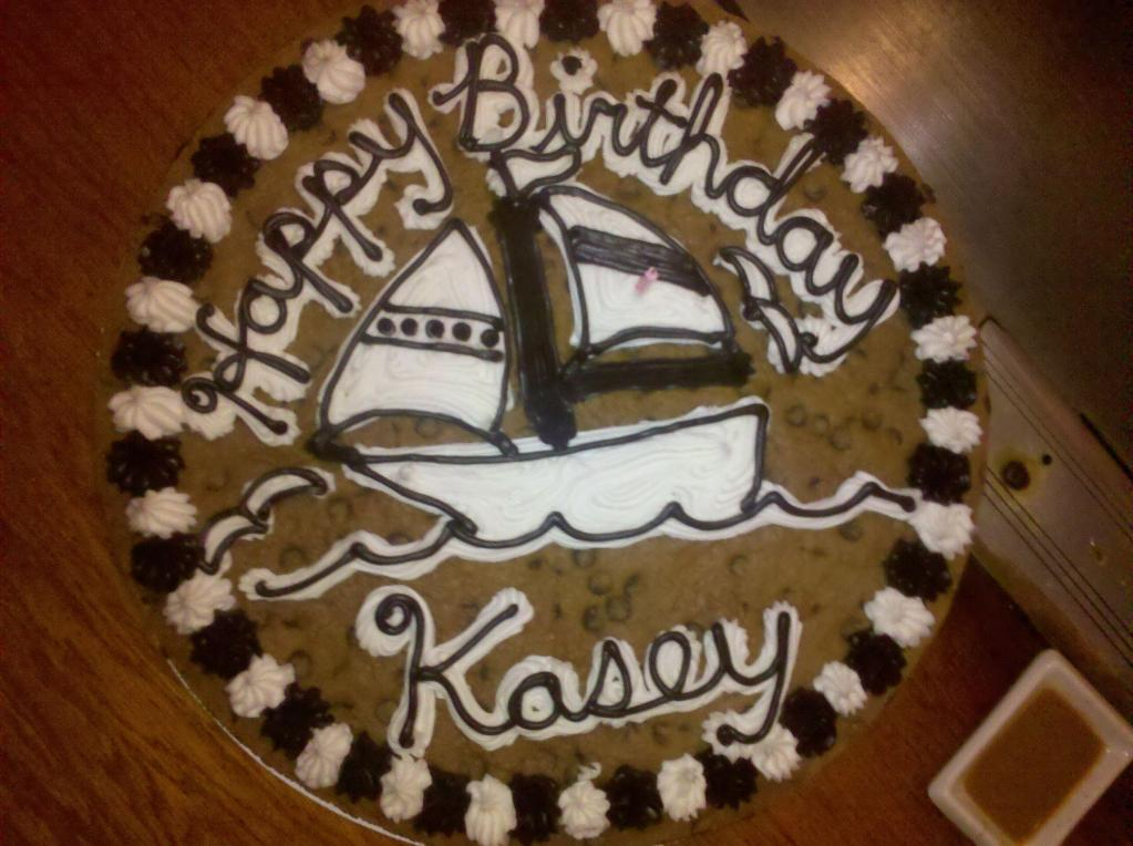 happy birthday kasey ; cookie