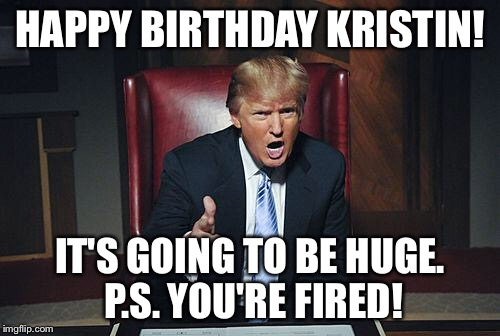 happy birthday kristen meme ; vpb14