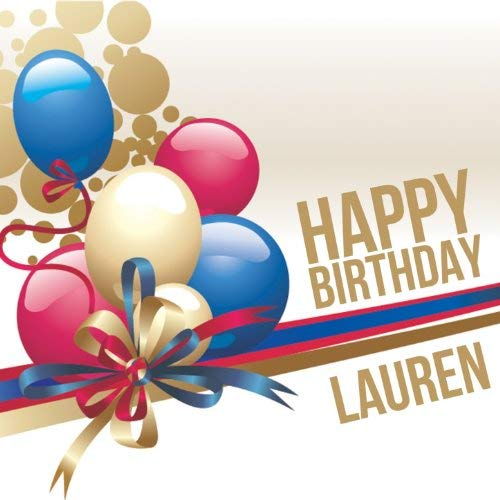 happy birthday lauren ; 51Ajrk-VLsL