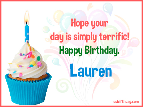 happy birthday lauren ; Lauren-Happy-Birthday-3