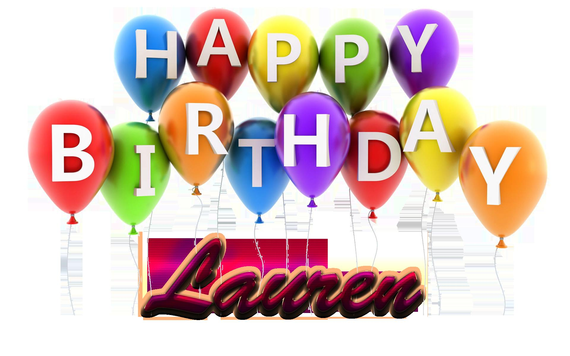 happy birthday lauren ; Lauren-Happy-Birthday-Balloons-Name-PNG