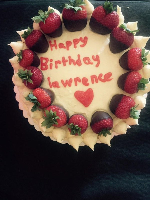 happy birthday lawrence ; B3E13VEIgAEysLe
