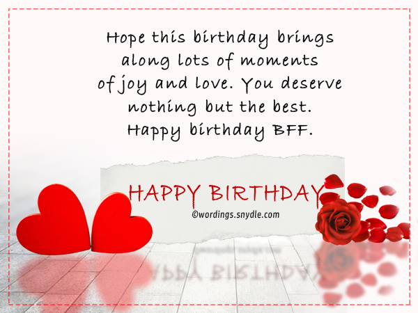 happy birthday long message for best friend ; birthday-messages-for-best-friend-forever-1